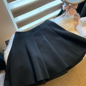 Topshop flared skirt